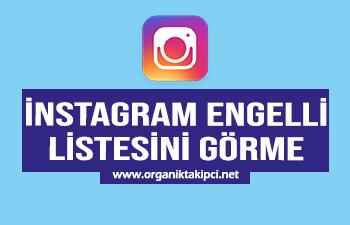 Instagram Engelli Listesi Görme