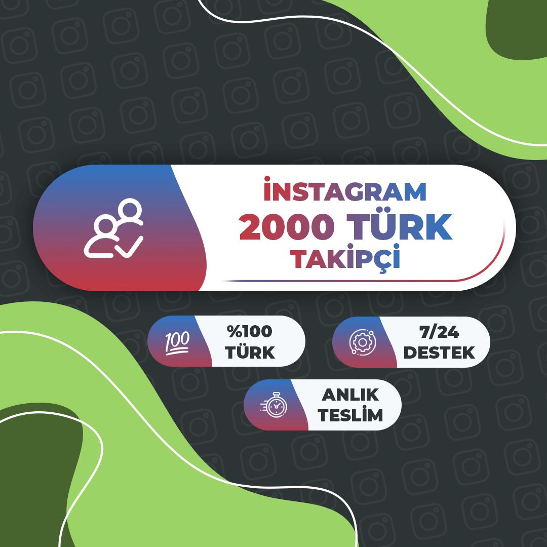 2000 Türk Takipçi