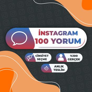 Instagram 100 Yorum