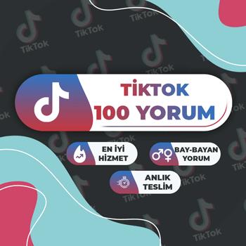 TikTok 100 Yorum