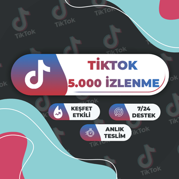TikTok 5000 İzlenme
