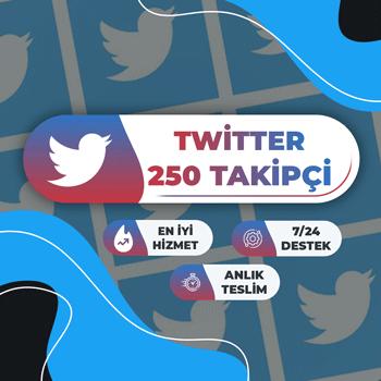 Twitter 250 Takipçi