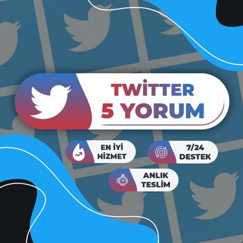 Twitter 5 Yorum