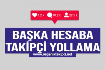 Başka Hesaba Takipçi Yollama